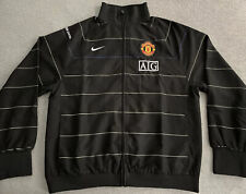 MANCHESTER UNITED NIKE MUFC SUIT JACKET MENS LARGE