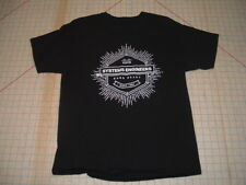 Born Ready Cisco Systems Engineers ss black t-shirt Adult MEDIUM Med technology