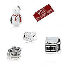 GENUINE 925 Silver Sterling  Charm 4 all European bracelets