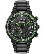 Citizen Eco-Drive Men's Satellite WaveWorld Time GPS Black-Tone Watch CC3035-50E