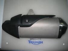 Triumph Speed Triple / R Mano Izquierda De Escape Negro Escudo P/n t2207351