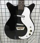 DANELECTRO 59DC Black Electric Guitar Tested Used for sale