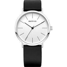 BERING Armbanduhren mit Armband aus echtem Leder für Herren