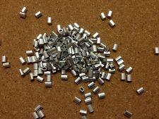 20x ALLUMINIO OVALE puntali per 1 mm una fune in acciaio inox Rigging