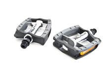 """XLC City/Confort Pedal de bicicleta PD-C09 pulido Aluminio Cuerpo 9/16"""",Negro/"""