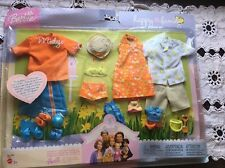 Barbie Happy Family Doll Clothing Set, Midge, Alan, Ryan & Nikki, New