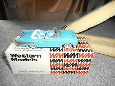 Western models 1/43 CHEVROLET BEL AIR open 1957 white métal  brooklin