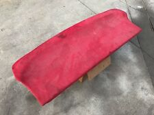 Used 94-01 Acura Integra 2 door coupe rear cargo cover. Custom red faux suede