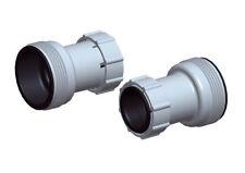 Adattatore connettore set 2 pz raccordo pompa filtro piscina tubo 38 - 32 mm