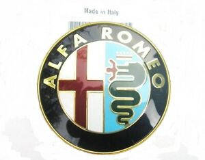 ALFA ROMEO 156 & 166 (1996 to 2002) NEW FRONT GRILLE BADGE EMBLEM  made in italy