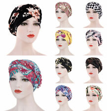 NEW Women's Muslim Braid Head Wraps Hijab Turban Head Cover Cap UK