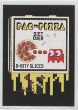 2017 Topps Wacky Packages 50th Anniversary Crazy Apps #8 Pac-Pizza Card 0c4