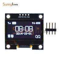 "1.3"" White OLED 4PIN LCD Display Module IIC I2C Interface 128x64 For Arduino"