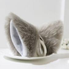 Orecchiette Party's Cat Fox Long Fur Ears Anime Neko Costume Hair Clip Cosplay