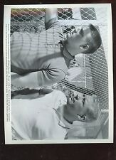 1962 Movie Safe At Home Publicity Photo Mickey Mantle Roger Maris Street Clothes