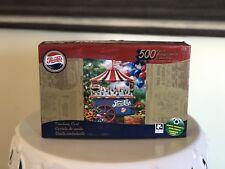 """Pepsi-Cola Vintage 500 Piece Puzzle Collection 11 X 18.25"""" Vending Cart"""