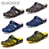 SUADEEX Uomo Sandali e scarpe da mare Ciabatte Pantofole estate Piscina Mare