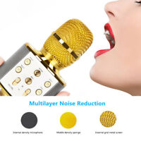 KTV Player Karaoke Microphone Wireless Portable Bluetooth Speaker Machine PC