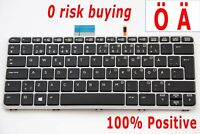 For HP Elitebook Folio 1020 1030 G1 Keyboard Swedish Finnish Nordic SE Backlit