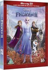 FROZEN 2 [Blu-ray 3D + 2D] (2019) Disney UK Exclusive 3D Movie w/ Slipcover II
