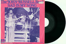 JOHN RUSSELL BAND Sad is My Song 1977 PS MINT SOUL FUNK VINYL 7""