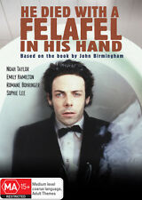 He Died With A Felafel In His Hand * NEW DVD * Noah Taylor Sophie Lee