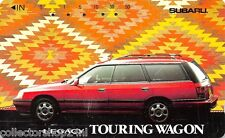 Telecard Japan : Subaru Legacy Touring Wagon - Nr 110-011