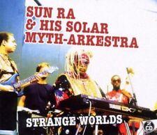 SUN RA & HIS SOLAR-MYTH ARKESTRA - STRANGE WORLDS 2 CD NEU
