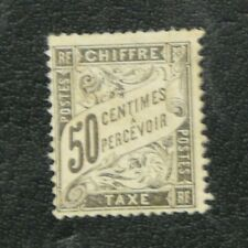 TIMBRES FRANCE : 1881/92 YVERT TIMBRE-TAXE N° 20 (*) NEUF SANS GOMME 2ème CHOIX
