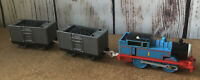 TrackMaster Thomas Tank Engine & Friends Spinning Load Coal Mine Trucks Rare
