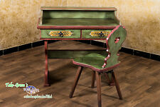 VOGLAUER Anno 1800 Altgrün Schminktisch Frisiertisch Schreibtisch Landhaus Stil