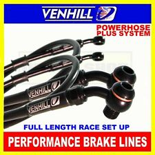 TRIUMPH SPRINT 900 RS 1999-02 VENHILL stainless steel braided brake hose kit BK