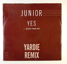 """12"""" Maxi - Junior  - Yes... (If You Want Me) - B3708 - washed & cleaned"""