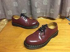 Dr Martens 1461 Z welt cherry Red shoes UK 5 EU 38 skin ska punk