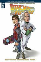 Back to the Future  #6 IDW Comic 1st Print 2015 unread new NM