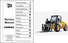 JCB Loadall 520-50 525-50 525S Loader Service Repair Workshop Manual CD