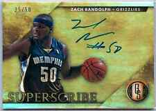 2014-15 Panini Gold Standard Zach Randolph Autograph 25/50 Grizzlies
