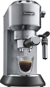 De´Longhi EC 685.M DEDICA Espresso-Maschine/Siebträger Edelstahl-Schwarz Neu