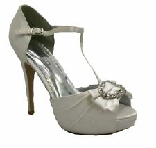 Stiletto Party Peep Toes 100% Leather Heels for Women