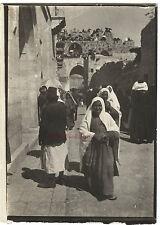 Jérusalem Les fêtes de Nabi Moussa  Photo Orig. 9x6,5cm Voyage en Orient 1909