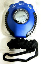 Handheld Stop Watch, Sports, Running, Walking, Stopwatch, Alarm, Blue SW1062