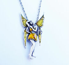 GOLDEN FAIRY Necklace faery Mystica faerie pendant jewelry jewellery