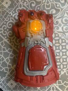 Marvel Avengers: Endgame Red Infinity Gauntlet Electronic Fist. Iron Man
