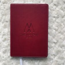 THE MAY FAIR Hotel office supplies Luxury Rare New Writing London Journal Book