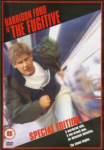 THE FUGITIVE (1993) Region 4 [DVD] Harrison Ford Tommy Lee Jones