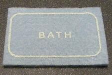 Bathroom 12th Miniature Carpet & Floor Coverings for Dolls