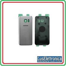 VETRO POSTERIORE RETRO BACK BATTERY COVER SCOCCA GLASS SAMSUNG S7 G930 SILVER