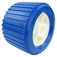 Osculati Boat Trailer Flush Side Roller D=100 mm L= 75 mm Black Bore D= 15 mm