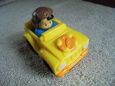 1 NWT Little People Wheelies What U See What U Get Yellow Jeep Aviator Hat Boy