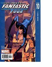 Lot Of 5 Ultimate Fantastic Four Marvel Comic Book #10 11 12 13 14 KS6